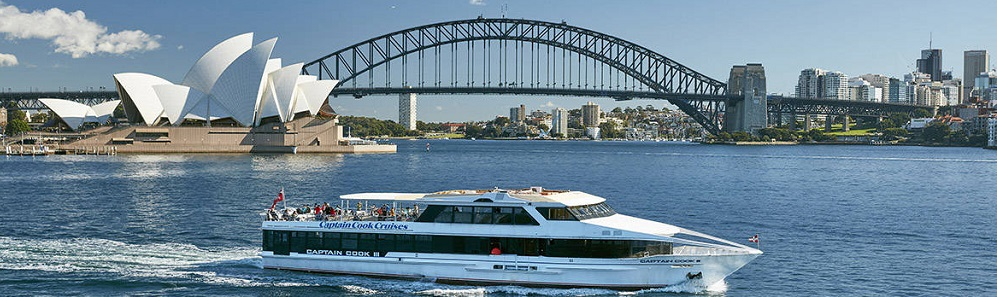 River Cruise from Homebush Bay to Circular Quay