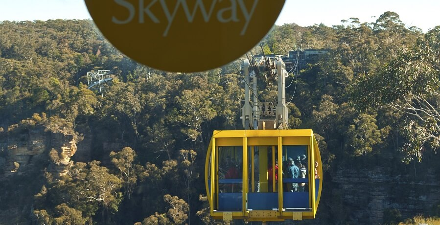 Blue Mountains Jenolan Caves Tour Scenic World Skyway