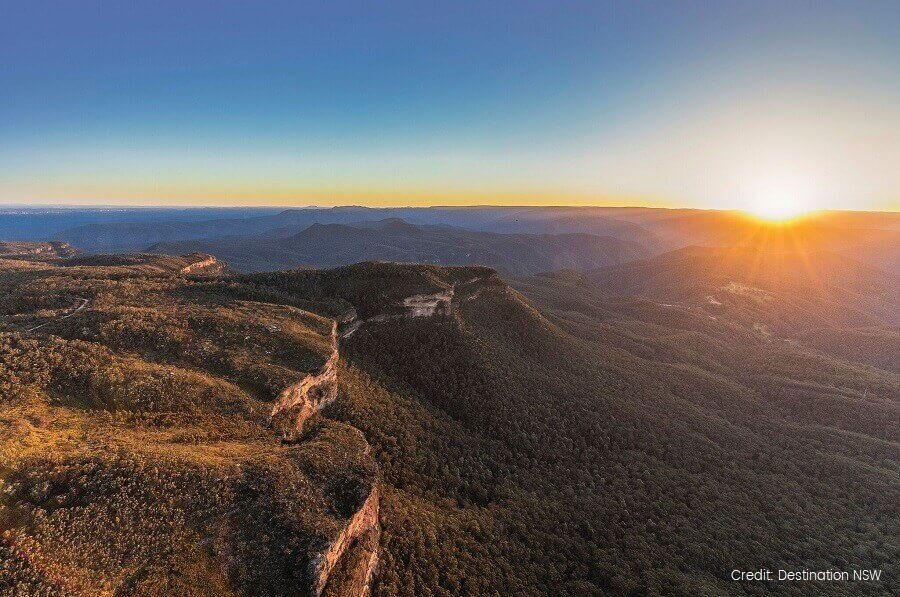 Blue Mountains Tours Sunset