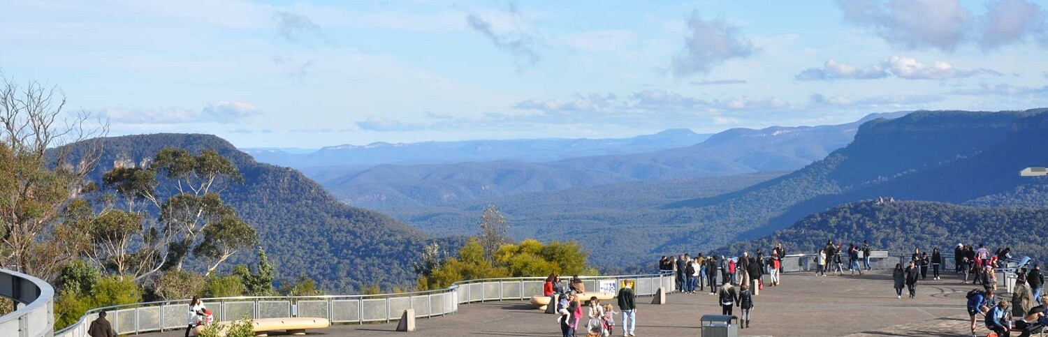 Why are Blue Mountains blue?