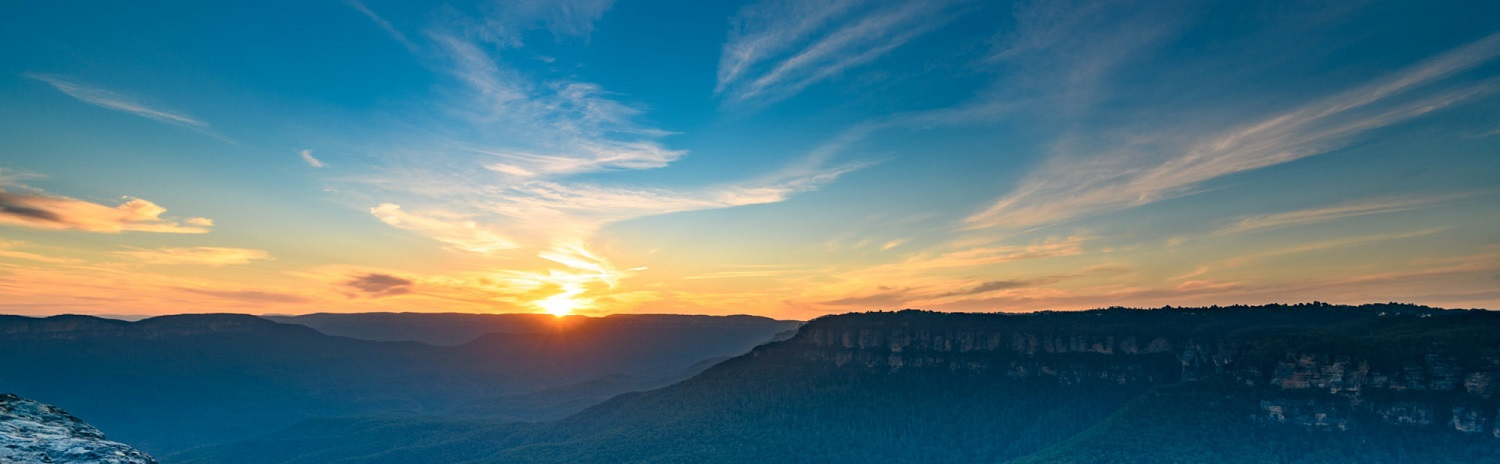 Where to watch the sunset within the Blue Mountains?