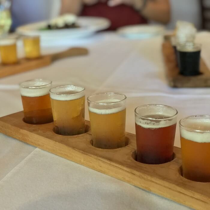 beer tasting in the hunter valley