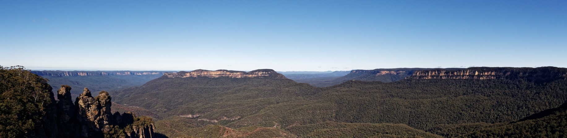 Why are the Blue Mountains World Heritage Listed?